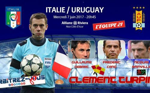 Italie Uruguay Nice